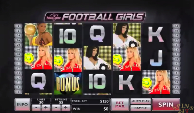 benchwarmer football girls screenshot