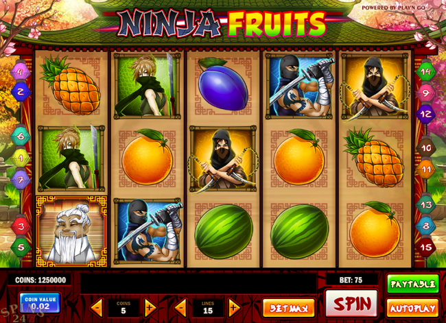 ninja fruits screenshot