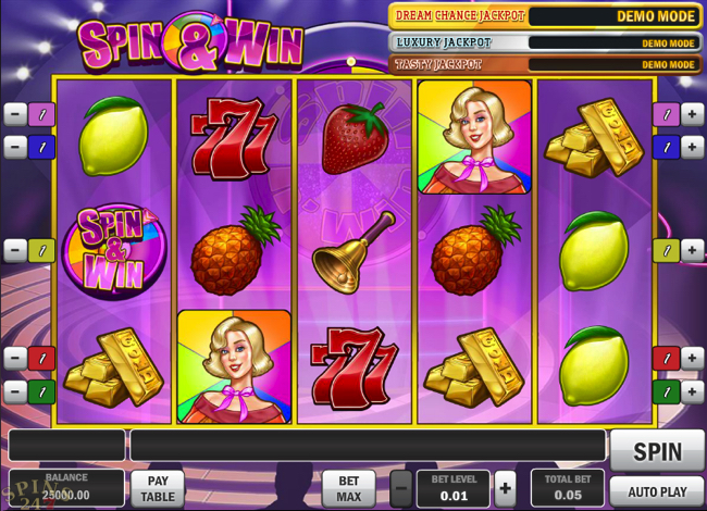spin & win screenshot