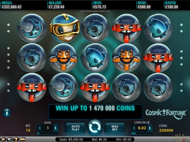 Roterende hjul slot funktion og gratis spil