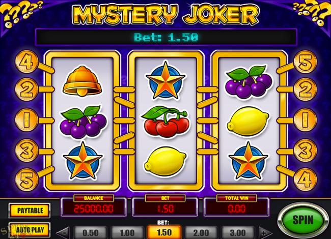 Spilleautomater joker