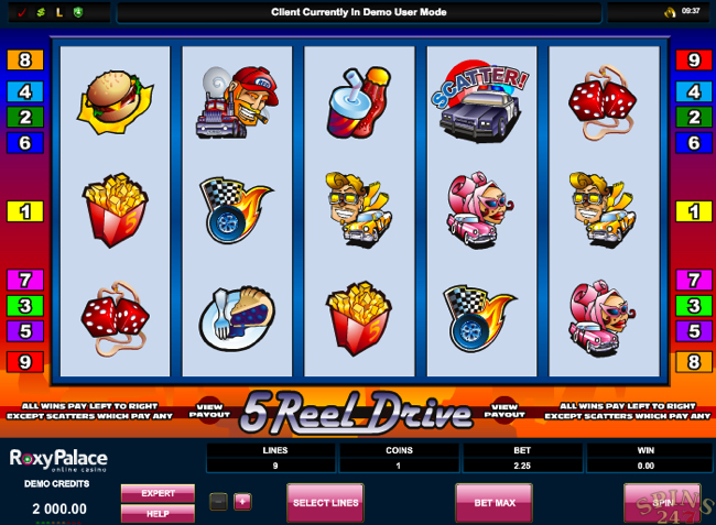 5reeldrive screenshot