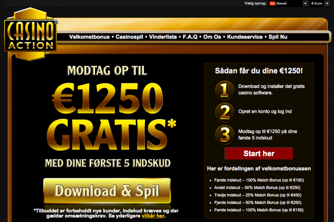 casinoaction screenshot