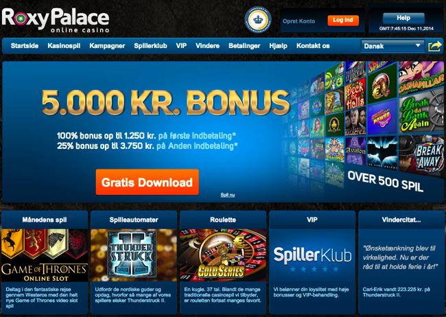 roxy casino gratis