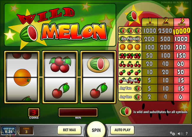 wild melon screenshot